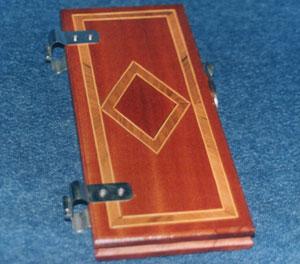 Stiracravatte in legno semplice