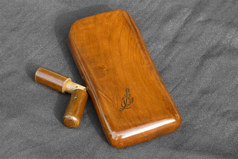 Portasigari in legno con umidificatore